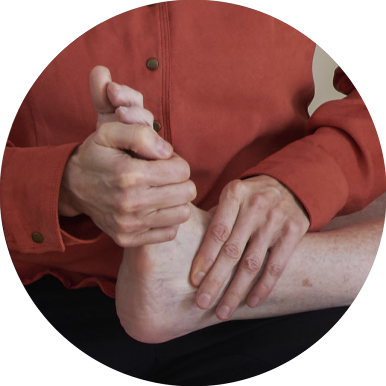 Treatment for balance issues, bunions & Hammertoe, neck tension